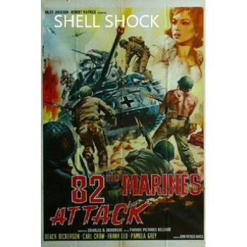 82nd Marines Attack – 1964  aka Combate  WWII