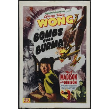 BOMBS OVER BURMA 1942 Anna May Wong