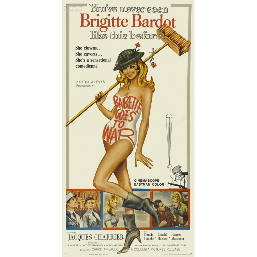 Babette Goes to War  1959  WWII