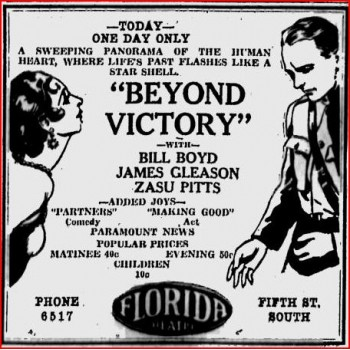 Beyond Victory (1931)  WWI