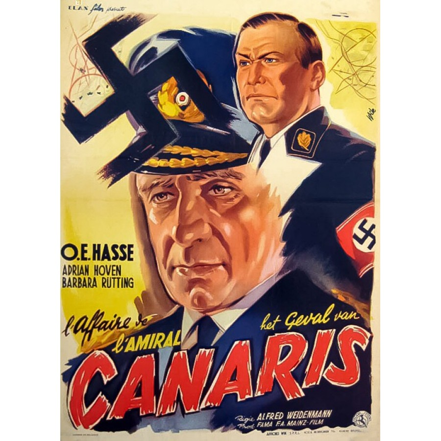 Canaris – 1954  aka Deadly Decision