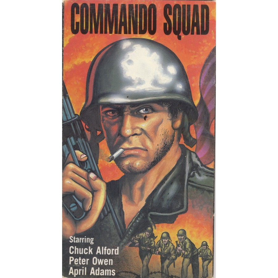 COMMANDO SQUAD  aka Mission: Africa (1968)