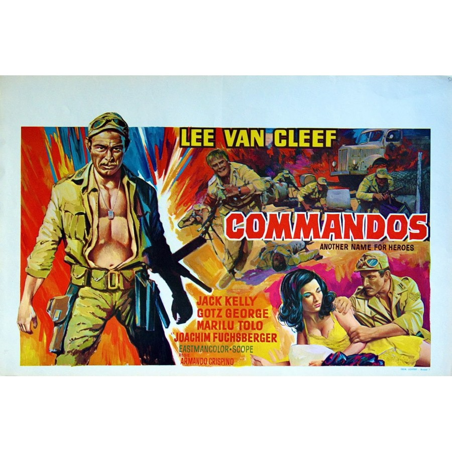 Commandos 1968 WWII, Lee Van Cleef