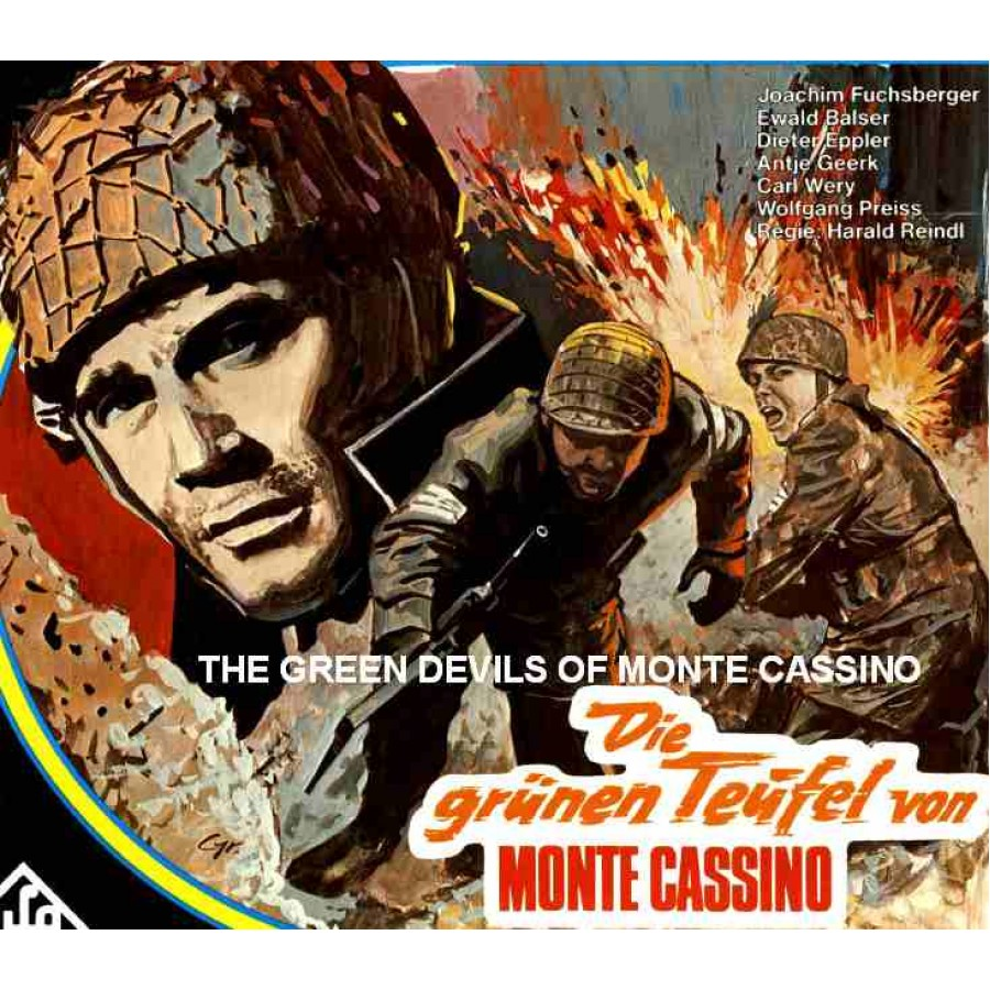 The Green Devils of Monte Cassino THE GREEN DEVILS OF MONTE CASSINO