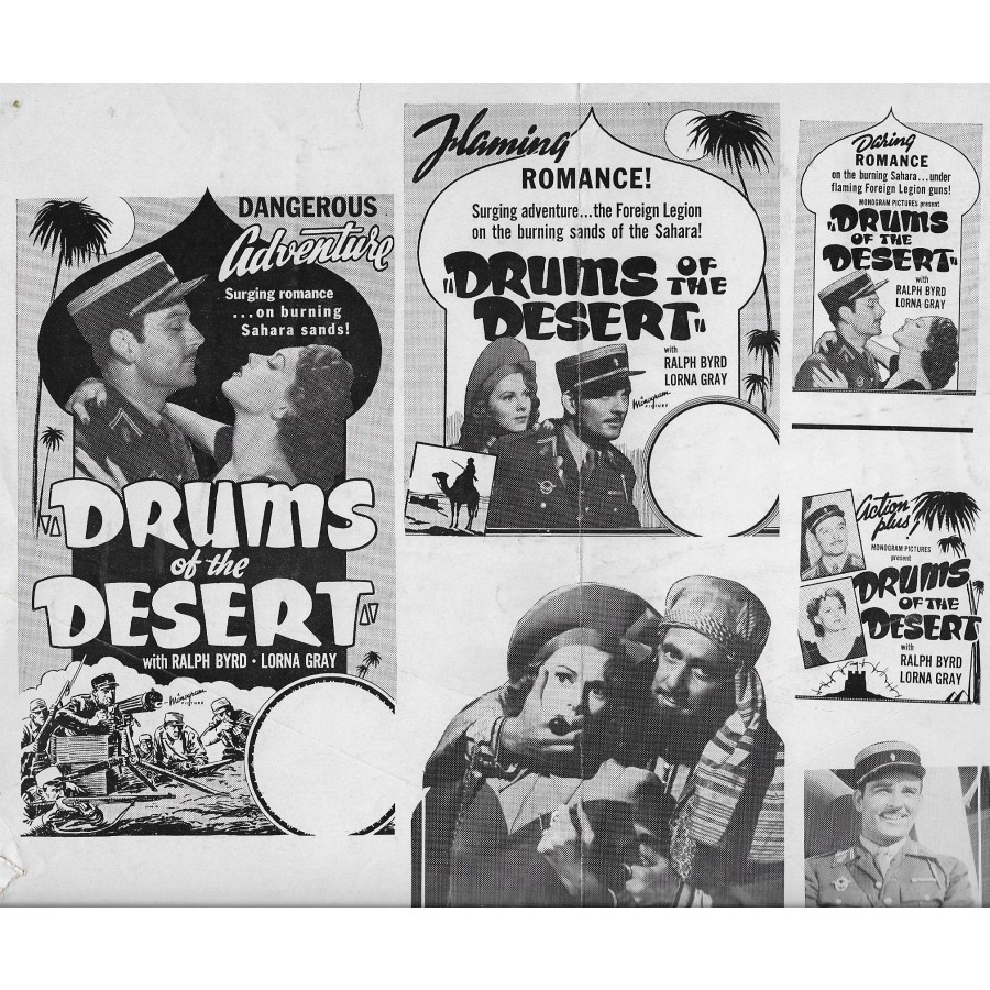 Drums of the Desert  1940