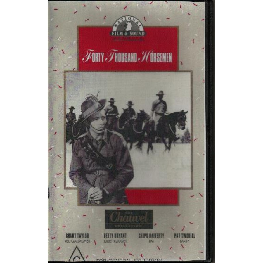 Forty Thousand Horsemen (1941)WWI