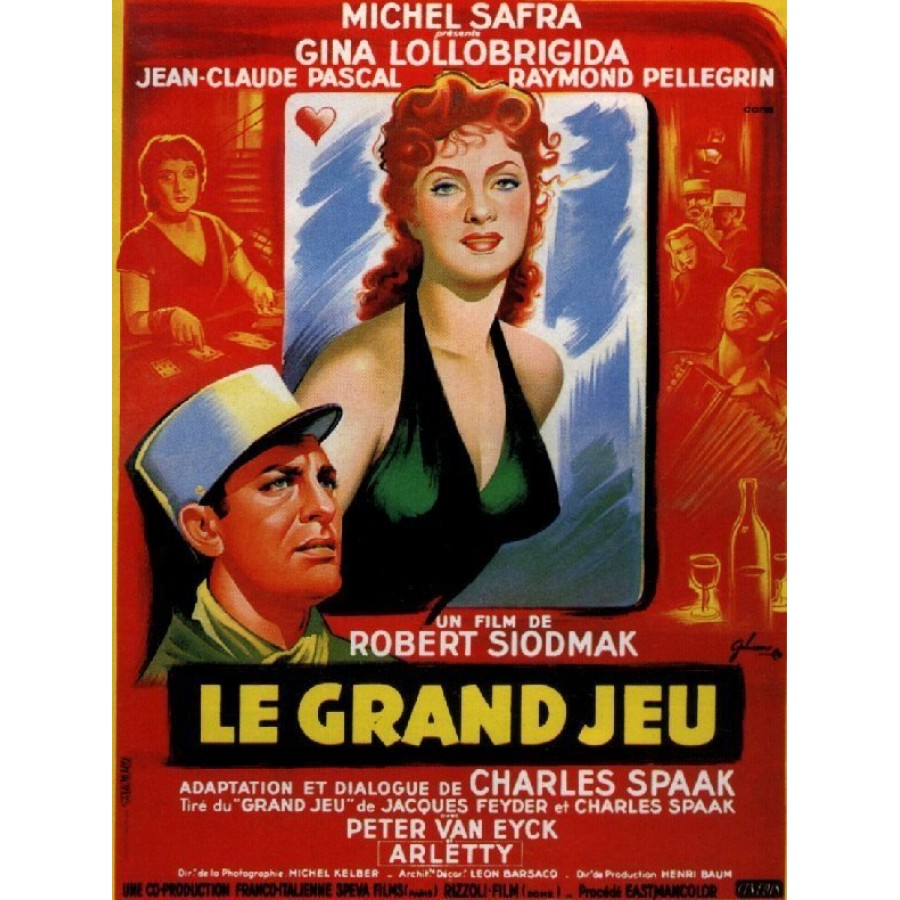 Flesh and the Woman	aka Le grand jeu 1954