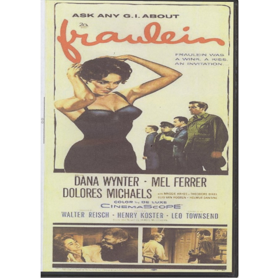 Fräulein (1958) Henry Koster, Dana Wynter, Mel Ferrer