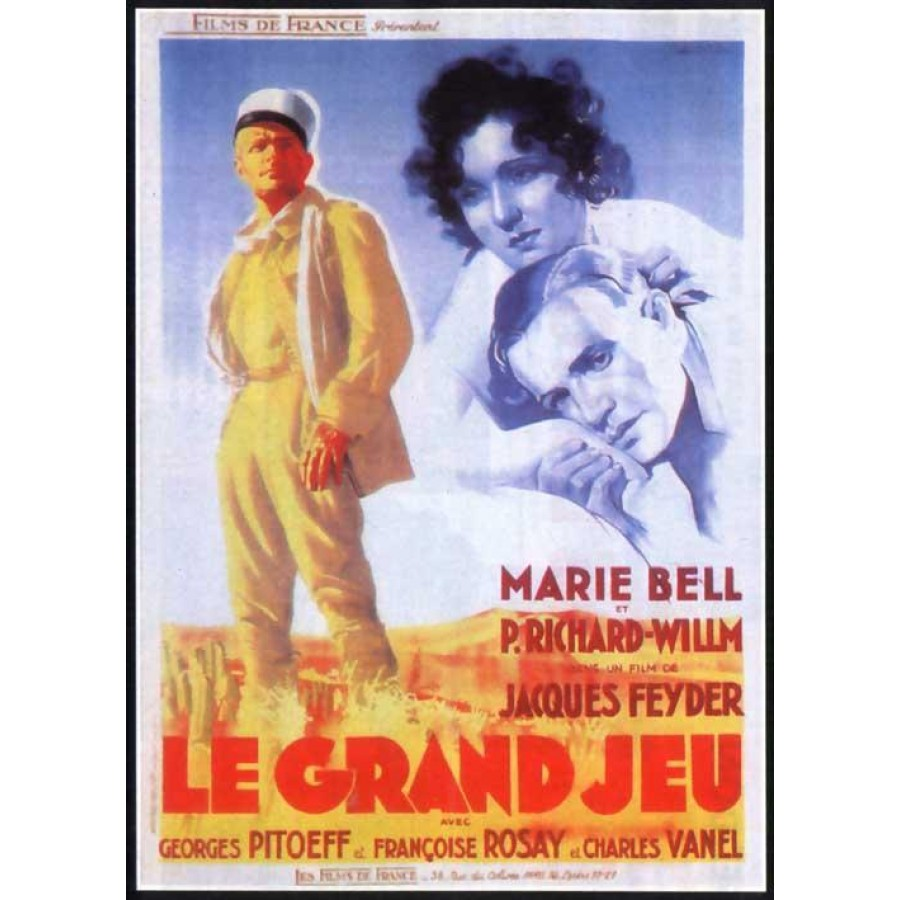 Le grand jeu  1934 Foreign Legion