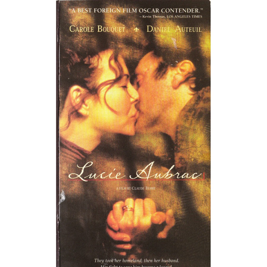 LUCIE AUBRAC 1997 WWII DRAMA, RESISTANCE ENGLISH SUBT.