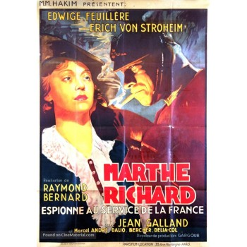 Marthe Richard – aka Marthe Richard au service de la France  1937
