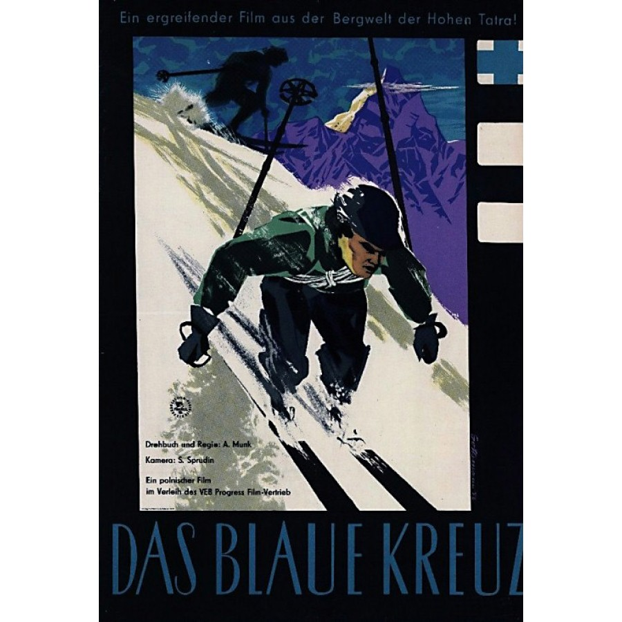 Blekitny krzyz (1955)  Men of Blue Cross
