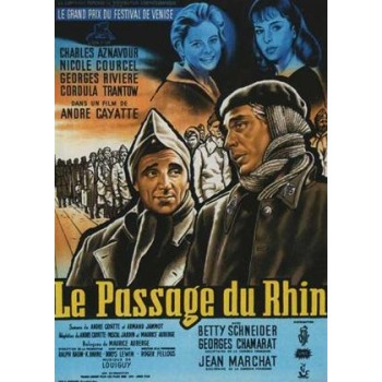 The Crossing of the Rhine 1960 WWII  aka Le passage du Rhin