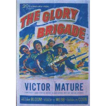THE GLORY BRIGADE  1953 Victor Mature