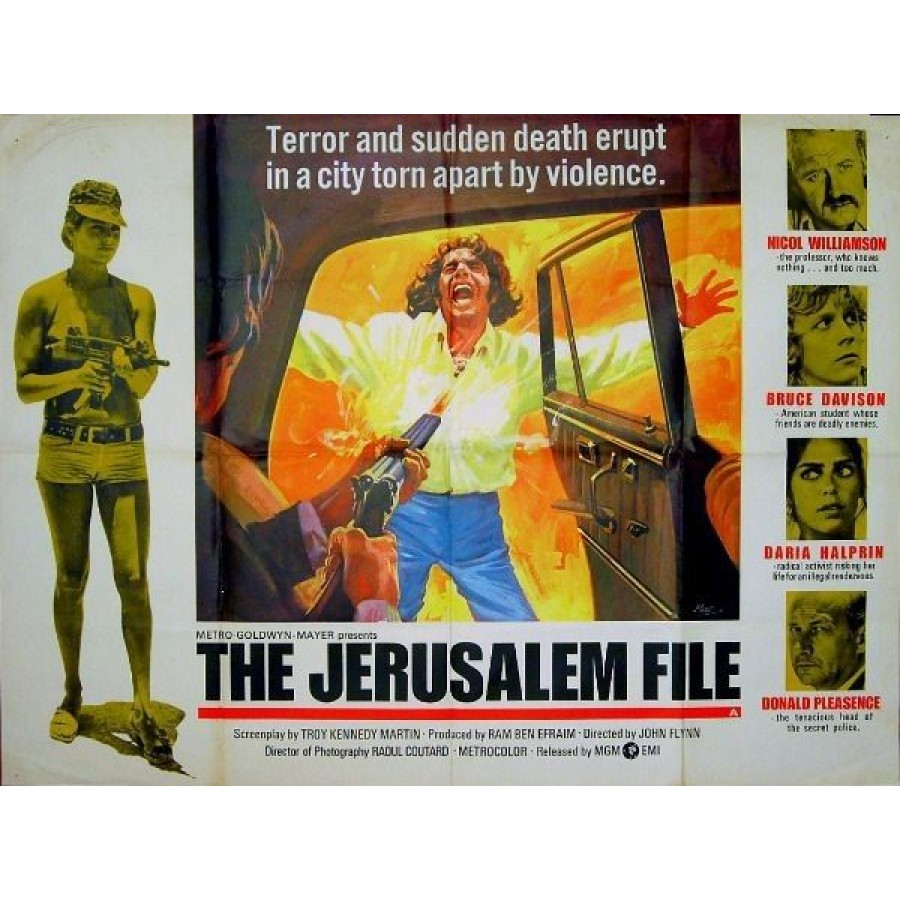 The Jerusalem File 1972 DVDR