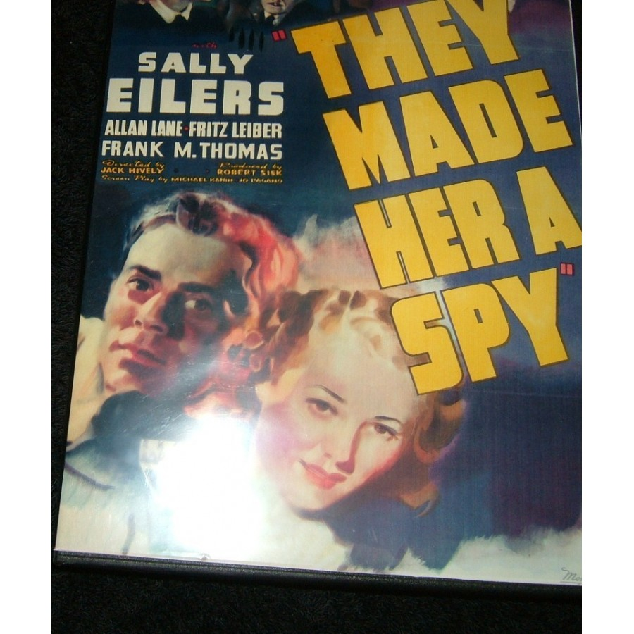 They Made Her a Spy 1939  WWII