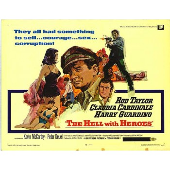 The Hell with Heroes  1968  Rod Taylor, Claudia Cardinale